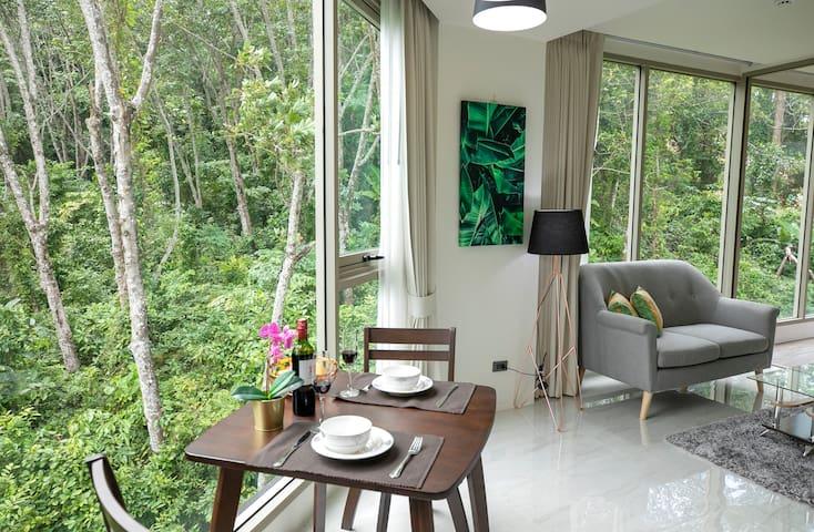 (J)Deep Relax Sea&Forest View Room Near The Beach