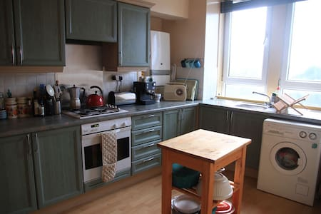 Bright and spacious flat in Glasgow - Glasgow