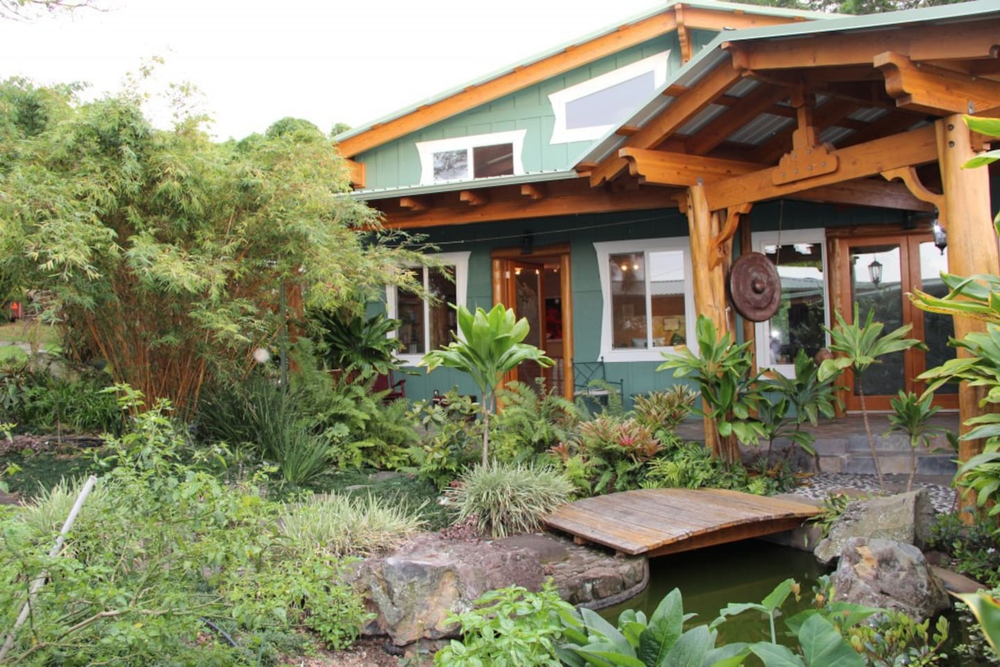Main House, Guest Suite, Dining Hall, Yoga and Meditation Studio