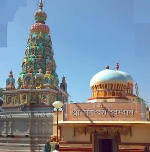 Ambejogai -Govind fr Devotees stay