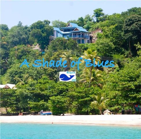 A Shade of Blues Apartment - 1 bedroom - Grenadines - Huoneisto