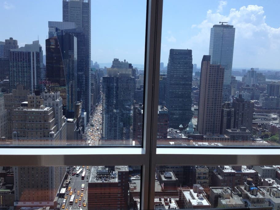 38th floor! Broadway! Times Square!