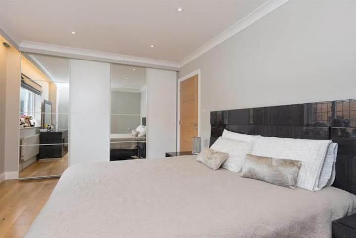 Masters Bedroom in a Luxury House