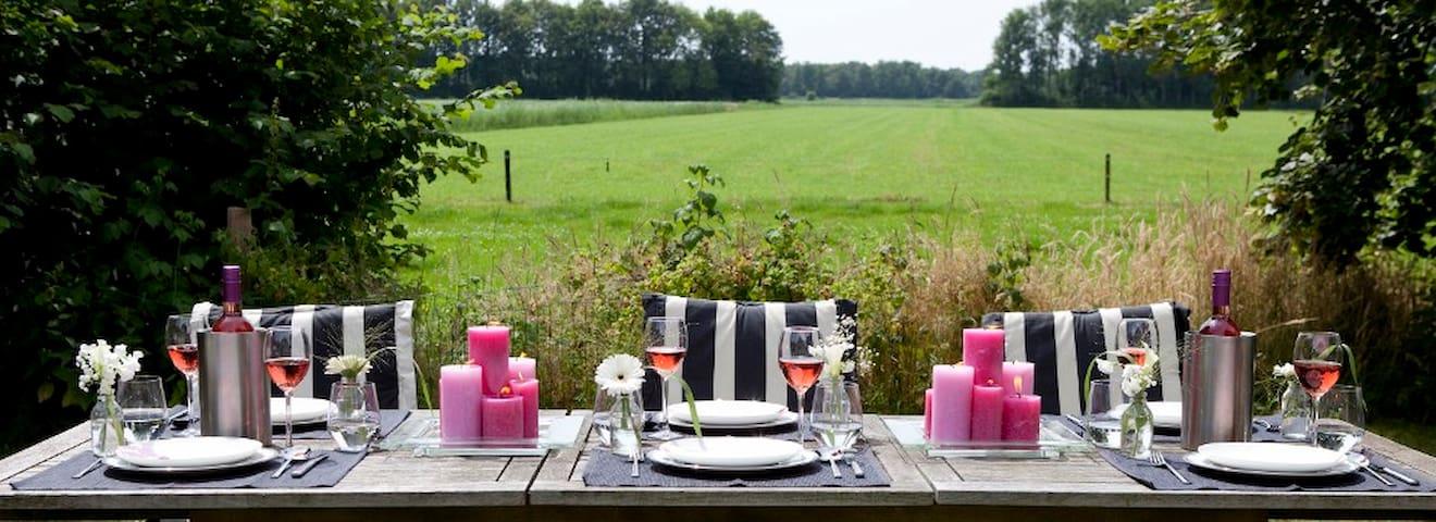 Sfeervolle drentse B&B farmlodges - Midden-Drenthe - Penzion (B&B)