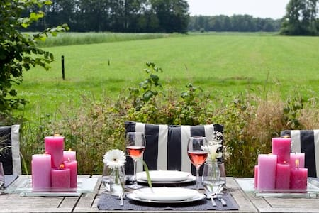 Sfeervolle drentse B&B farmlodges - Midden-Drenthe