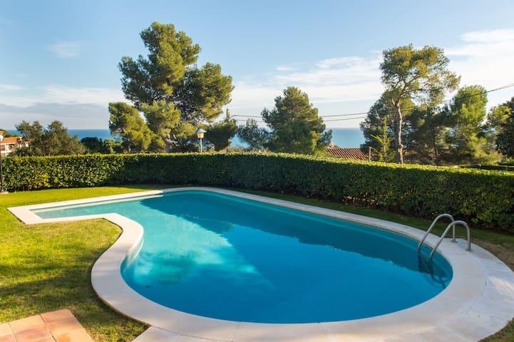 Apartamento con vistas y piscina, Ref.: K-4 - Calella de Palafrugell - Byt