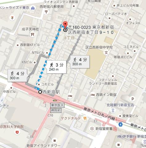 セルカディア港区芝浦 - Minato-ku - Appartement