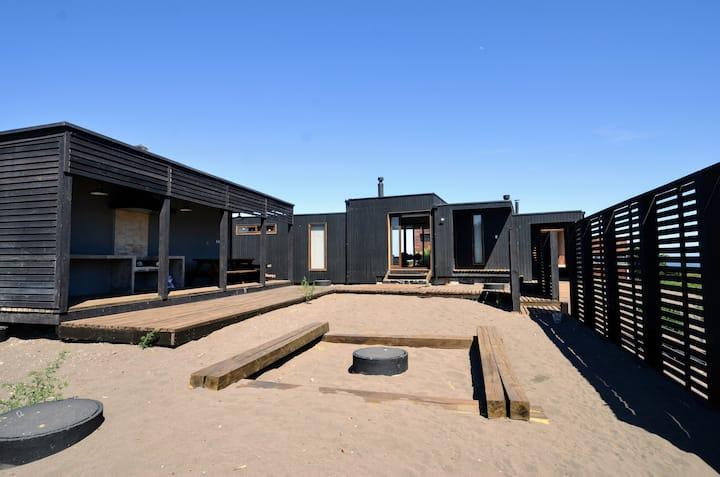 Acogedora Casa a pasos de la Playa Punta Lobos