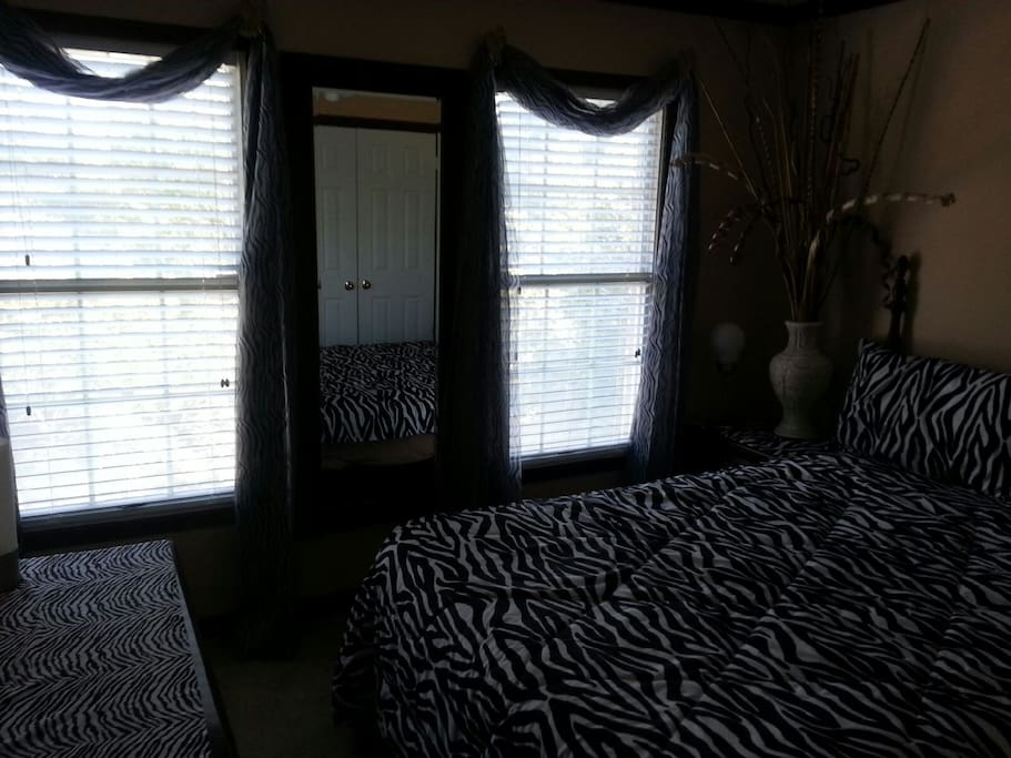 Spacious and comfortable fully furnished bedroom