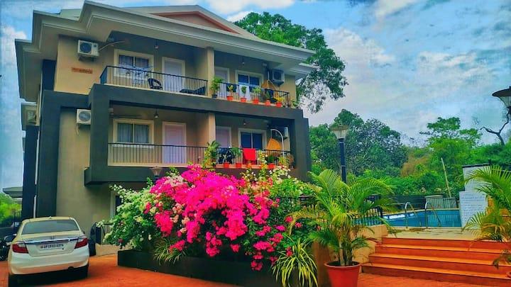 4BHK Stunning Apartment Near Major Beaches 2BHKX2