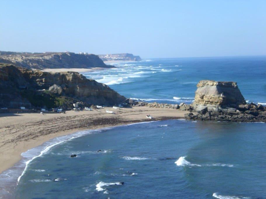 Porto Novo beach and Santa Rita beach