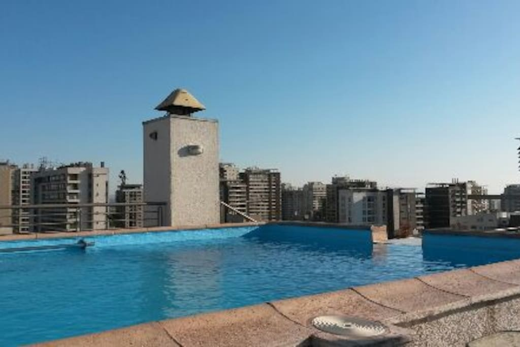 Vista Panoramica de Piscina