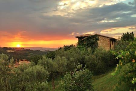 Borgo le Cinischie - Fedora - Collazzone - House