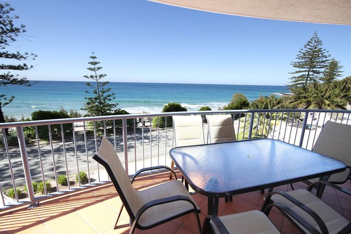 Self Catering /Beachfront at Coolum - Pantai Coolum - Apartemen