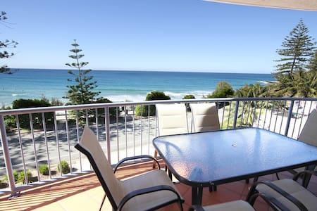 COOLUM BEACH -absolute beachfront popular unit