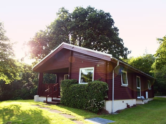 Ruskin Lodge, traditional log cabin - Dunoon - Cabaña