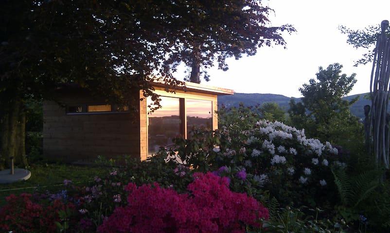 Gartenhaus mit Weitblick