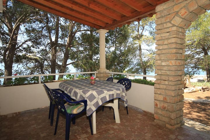 One bedroom apartment near beach Lavdara (Dugi otok) (A-8114-b)