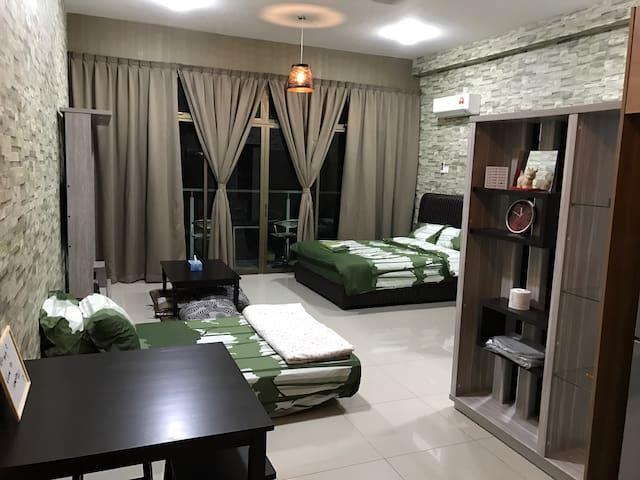 Palazio APT (JB)Homestay - Johor Bahru - Appartement
