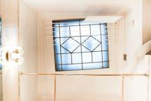 Bathroom's skylight