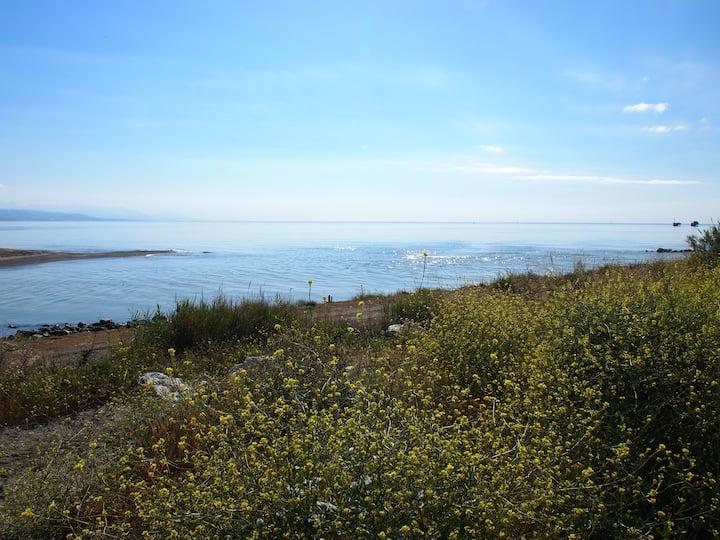 2 Habitaciones con terraza  a 50 m playa
