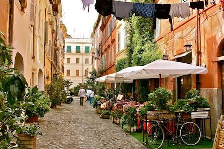 In Trastevere, in the heart of Rome
