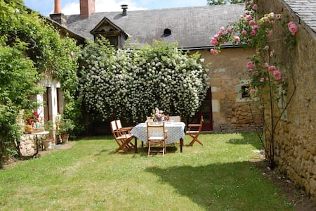 300 year old authentic farmhouse - Bazouges-sur-le-Loir
