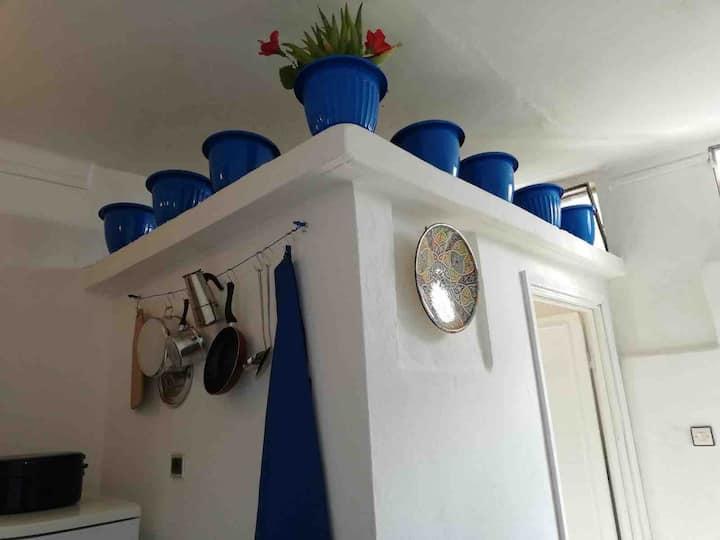Maison à Khouribga, La Petite Maison Bleue