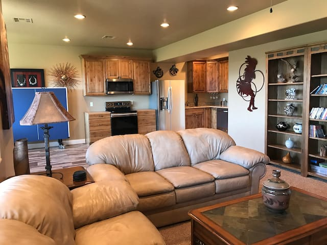 Recently remodeled walkout basement apartment.