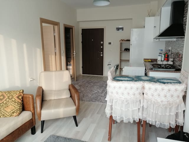 SWEET&QUİET 1+1 RESİDENCE WİTH POOL&SMALL BALCONY