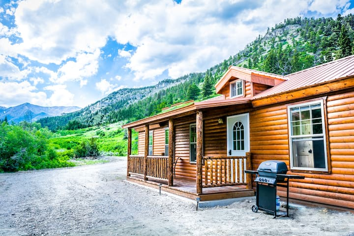 Fisher Cabin - Cute Log Cabin with Private Creek Frontage