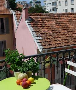 SUPERBE VUE SUR LA CATHEDRALE RUSSE à 10 mn gare - Nice - Appartement