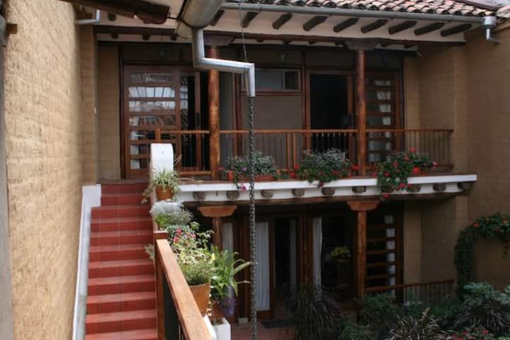 Split-level studio, downtown Cuenca