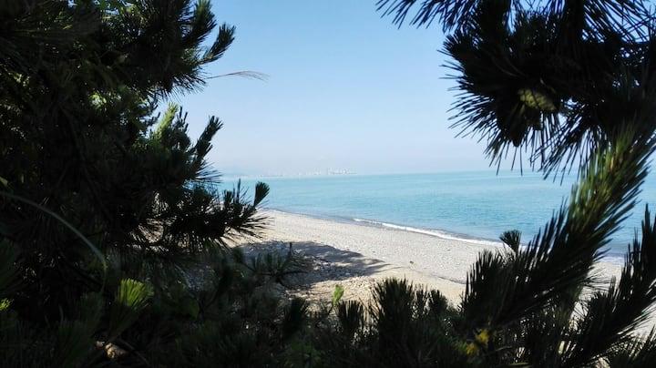 Домик у моря (маленькая спаленка с видом на море)
