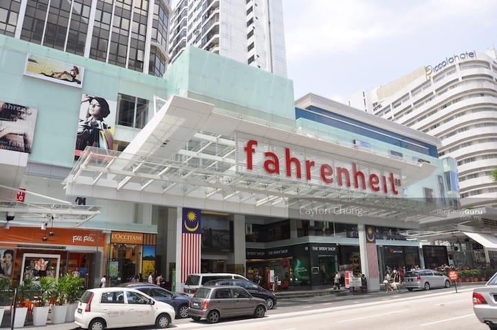 4Bedroom Best Location@Bukit Bintang Fahrenheit 88