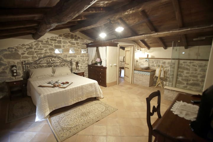 Ruspante Hostelry, Rocco room. - Castro dei Volsci - Bed & Breakfast