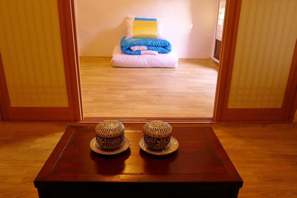 한국적 멋이 느껴지는 객실(패밀리룸)