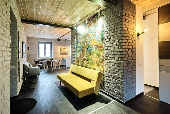 Apartment loft, History center Minsk