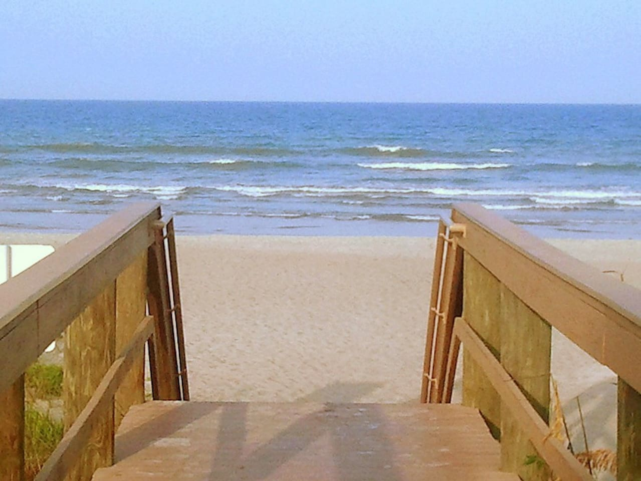 Beach access from complex
