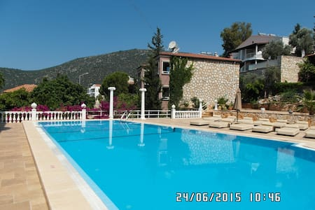 SEA VIEW  TWO BEDROOM APARTMENT - Kaş - Lejlighed