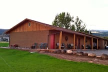 Charming four unit motel on a 100 acre working ranch.
