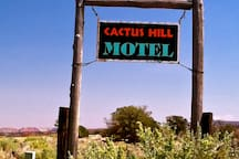 Cactus Hill Ranch Motel, quiet lodging off the beaten path.