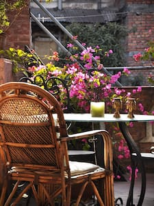 Roof terrace studio - beautiful Newari House Patan - Patan