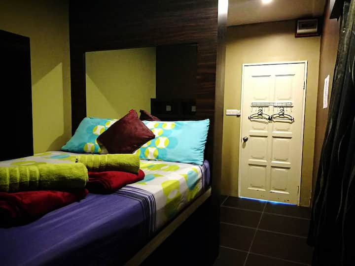 Family Room (1 double and 1 bunk bed) - 4 Persons