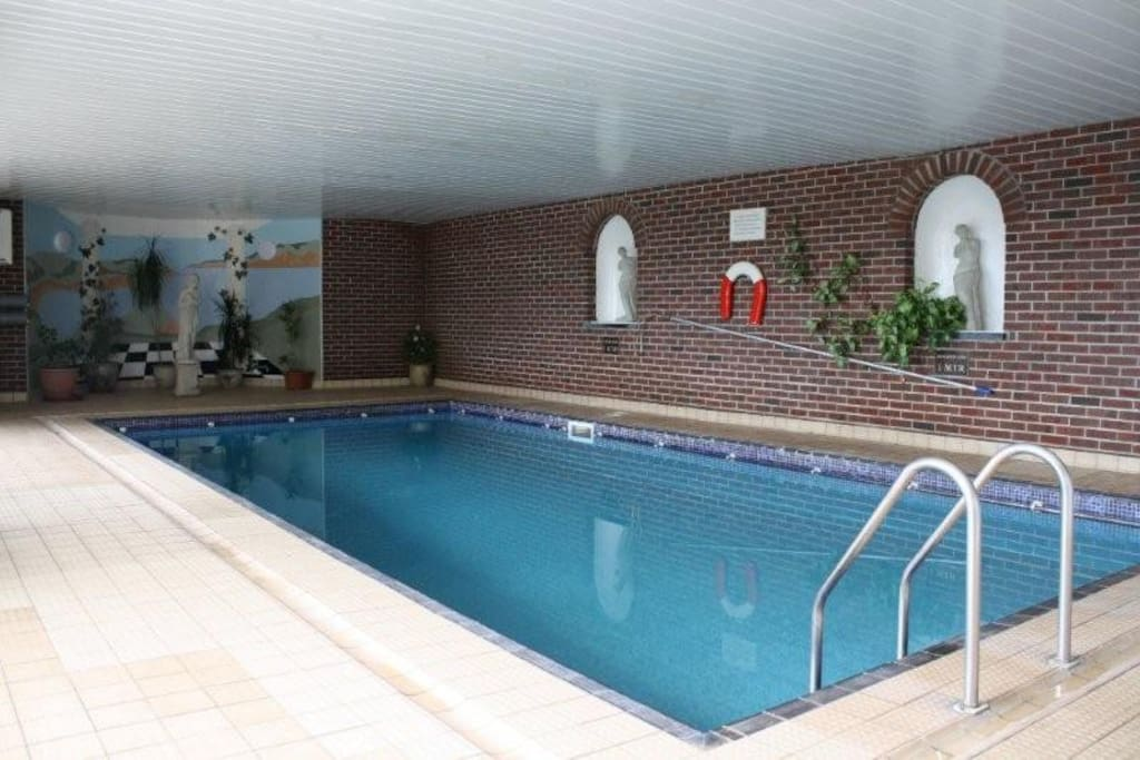 Included in your booking is use of our indoor heated pool