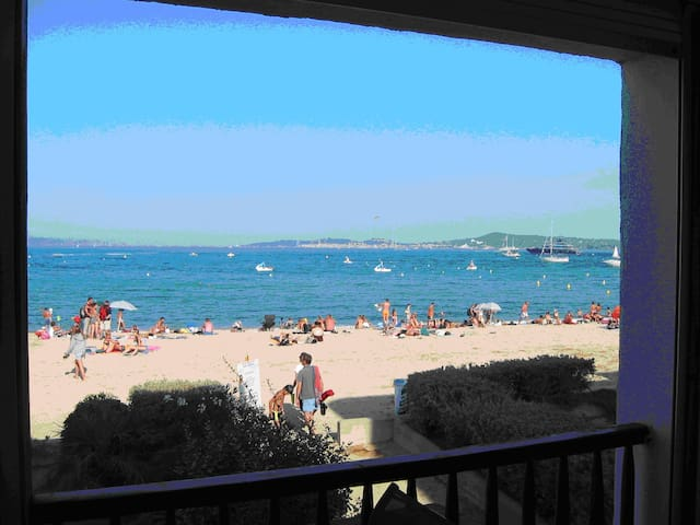 Appart. bord de mer à Port GRIMAUD - Grimaud - Lägenhet