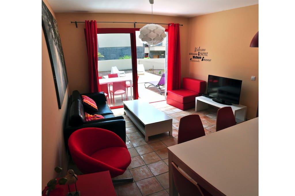 Salón comedor / Living & dining room / Wohnzimmer & Esszimmer