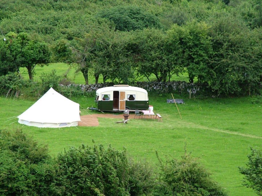 Burren farm camping