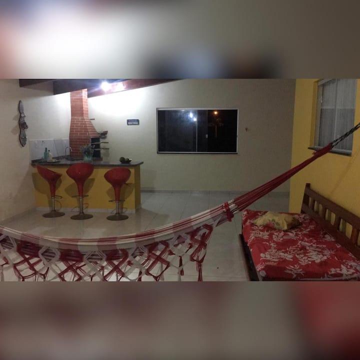 Casa em Balneário de Guaratiba (até 6 pessoas)