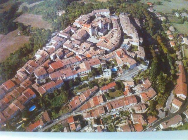 vue de Lauzerte